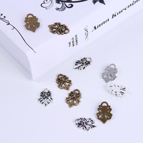 2015 Sıcak Satış Gümüş / Bakır retro Kafatası Kolye Imalatı DIY takı kolye fit Kolye veya Bilezikler charm 200 adet / grup 249 w