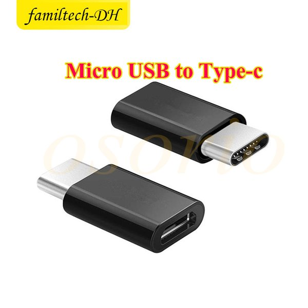Micro USB female to USB 3.1 Type-c male Cable Adapter Charge Data Sync Converter For Note7 new MacBook ChromeBook Pixel Nexus 5X 6P Nexus 6P