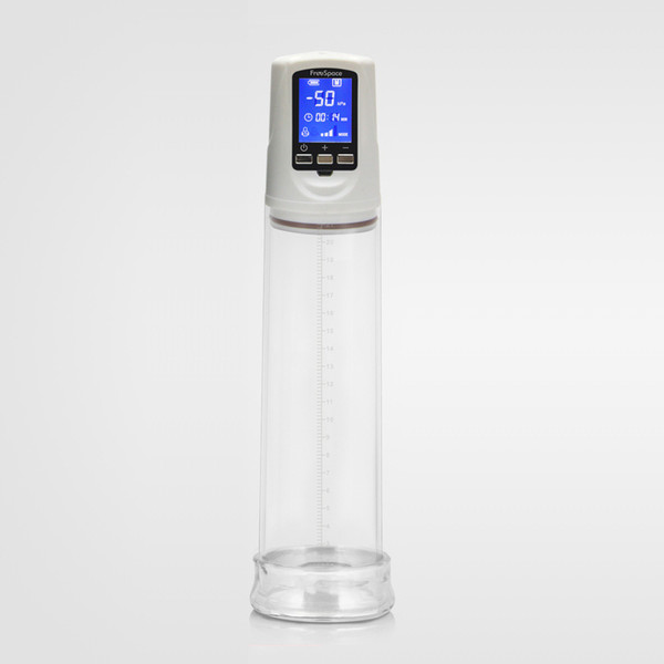 top popular Penis Pump second generation USB,with LCD display,Charged Electric Penis Enlargement,electric Penis extender Sex machine,Sex toys for man 2021