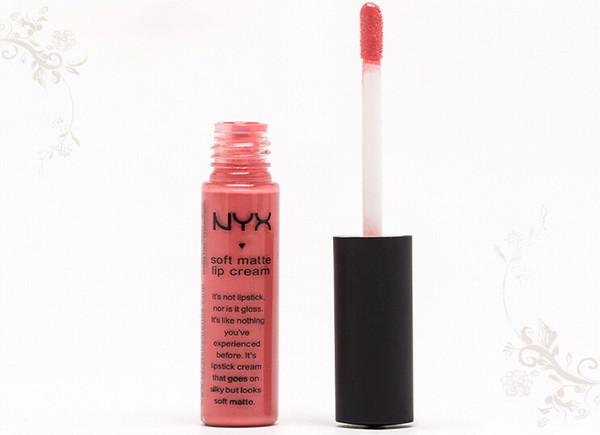 2016 new NYX Soft Matte Lip Cream Lip Gloss Lipstick Vintage Long Lasting NYX Lip Gloss 10g