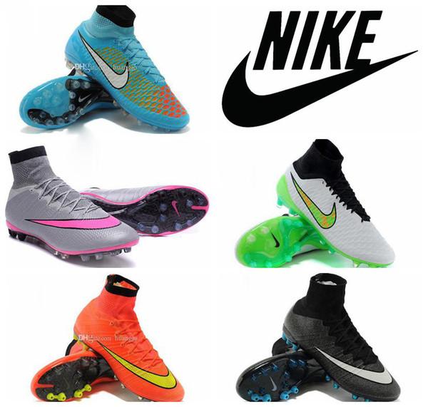 Compre Nike Magista Obra FG Para Hombre De Fútbol Calzan Las Grapas, Original Nike Magista Obra FG Botas De Fútbol Tacos Nueva Venta Caliente A