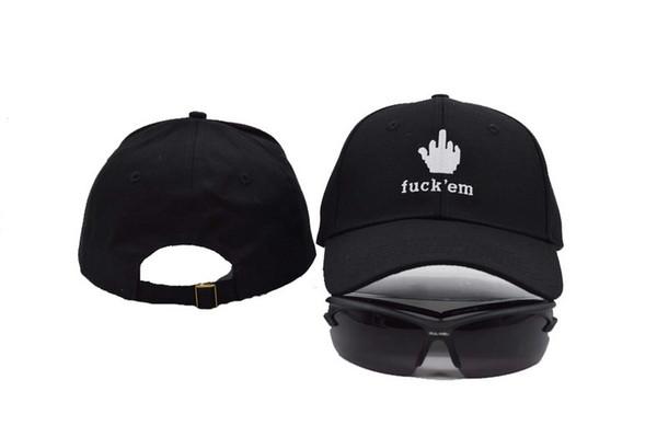 a88ad97fa12384 2016 Black Fuck Em Ball Caps Bigbang G-Dragon Hip Hop Cap Cool Baseball Hats