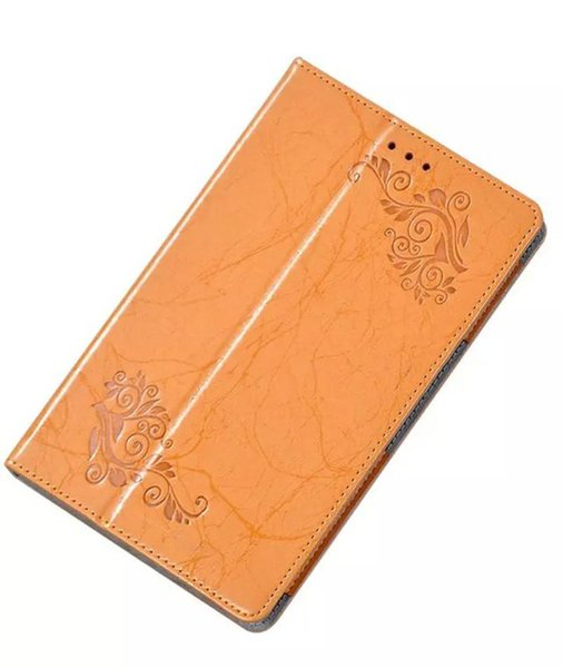 30pcs Luxury Flower Printed PU Leather Case for ASUS ZenPad 8.0 Z380C Z380KL Z380 Tablet 8 inch Cover + Screen Protector Protective Film