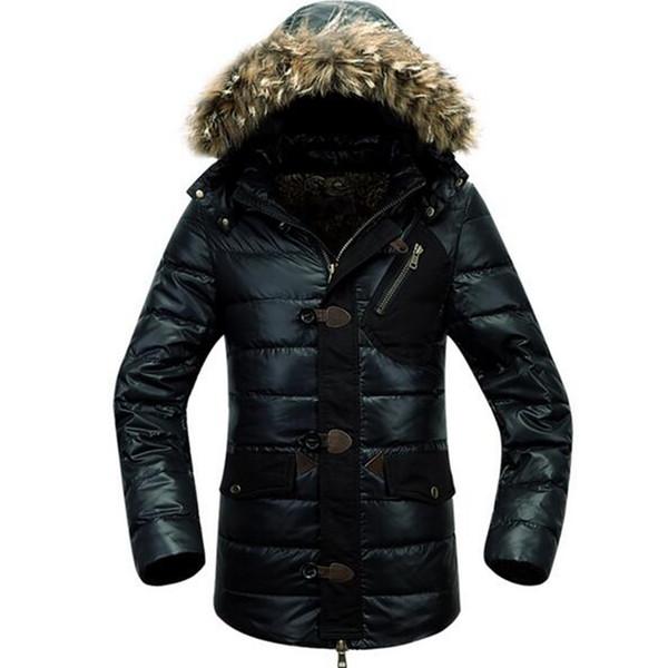 Erkek sonbahar / kış açık yeni otantik sıcak ılık marka büyük metre kişinin ahlak yetiştirmek için ceket aşağı ceket ölçüsü. M - 3xl