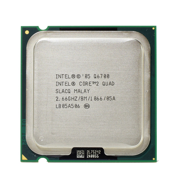 Procesador Intel Q6700 Core 2 Quad 2.66GHz 8MB Quad-Core FSB 1066 Desktop LGA 775 CPU