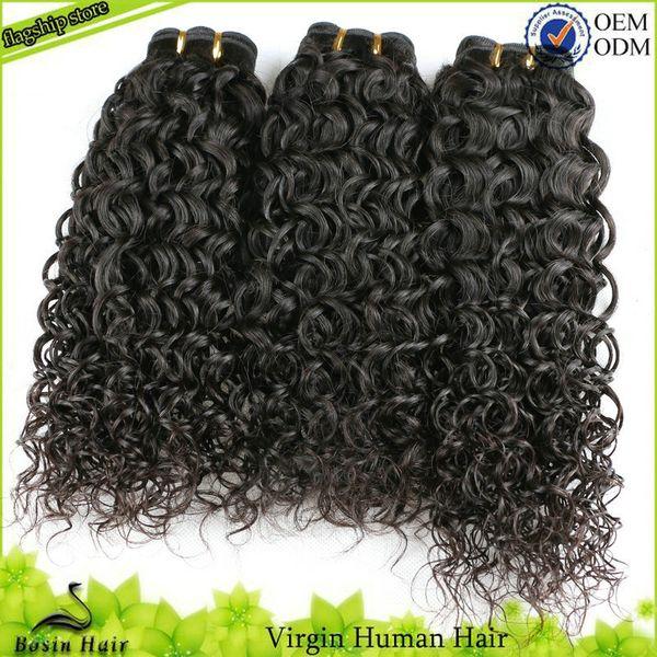 Afro Curly Weaves For Black Women Unprocessed Virgin Human Hair Extensions Grade 7A 3PCS Hair Bundles Brazilian Kinky Curly Virgin Hair