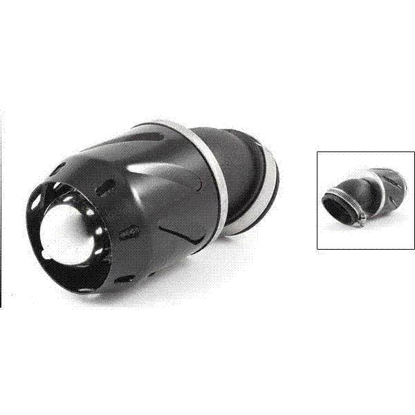 27mm-51mm Braçadeira Ajustável De Entrada De Ar Inflow Filtro De Ar Do Filtro para a Moto Frete Grátis Sistemas de Filtros de Ar
