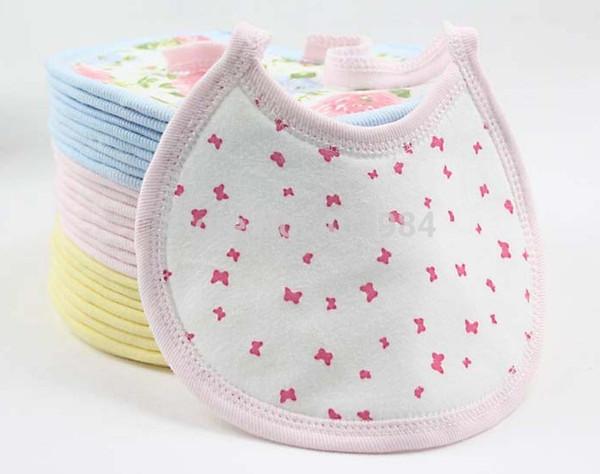 10pcs/lot Baby Bibs Burp Cloths Baby girl boy infant Waterproof Saliva newborn feeding bibs baby Waterproof towel