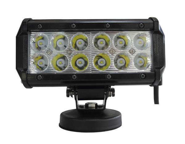 7 '' 36 W LED İş Işık Bar OffRoad LED sürüş çubuğu sis Lambası Traktör Tekne 4WD 4x4 Kamyon