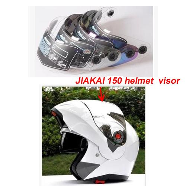 top popular Free shipping Motorcycle Helmet Visor  windshied helmet glass -model JIEKAI 150 JIEKAI ,100% orginal and 100% new 2021