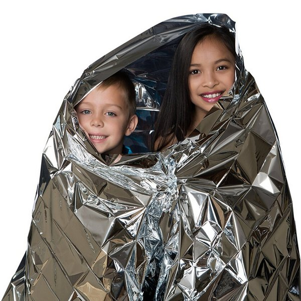 Wholesale-Emergency Mylar Safety Shelter Kit, Survival Mylar Thermal Reflective Cold Weather Shelter Tube Tent