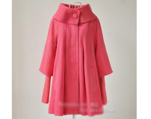 All'ingrosso-S-XXL Nuovo autunno inverno moda coreano cappotto di lana donne giacca a vento cape tuta sportiva di maternità donne incinte abbigliamento 1088