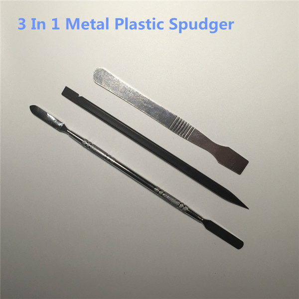 3 In 1 Metal Plastic Spudger Set Tools Repair Opening Pry Tool Kit For iPhone/iPad For Samsung Cell Phone