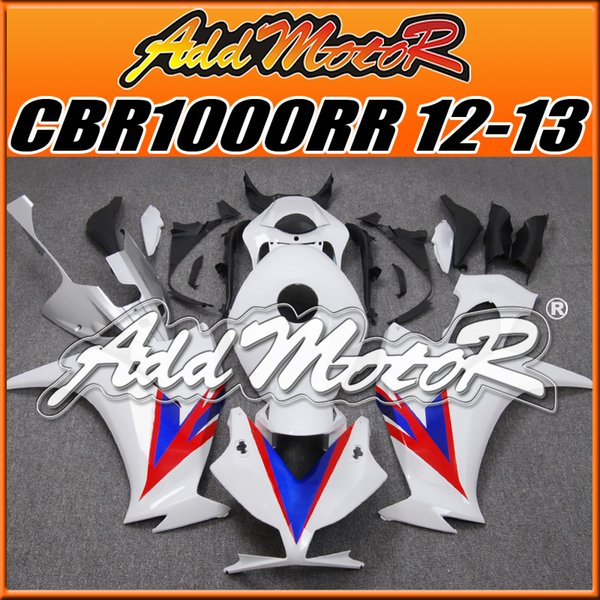 Addmotor Brand New Injection Mold Plastic Fairings Fit Honda CBR1000RR 2012-2016 CBR 1000RR 12-16 Body Kit Blue Red H1222 +5 Free Gifts