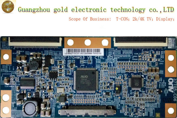 Original AUO logic board T370HW03 VB 37T05-C06 T-CON board CTRL board Flat TV Parts LCD LED TV Parts