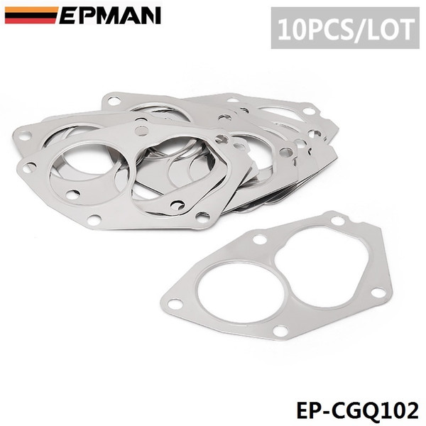 EPMAN For Mitsubishi Lancer EVO 4 ~ 9 Dump Outlet Pipe Stainless Steel Turbo Exhaust Gasket EP-CGQ102