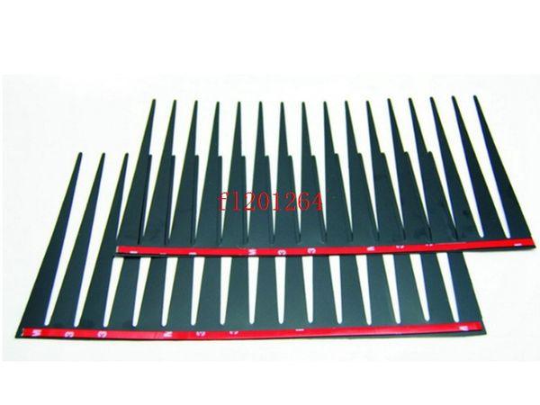 best selling Free Shipping Car Styling Decal Black Eyelashes Vehicle Headlight Decorative Sticker 3D Charming car Eyelash,500pcs lot