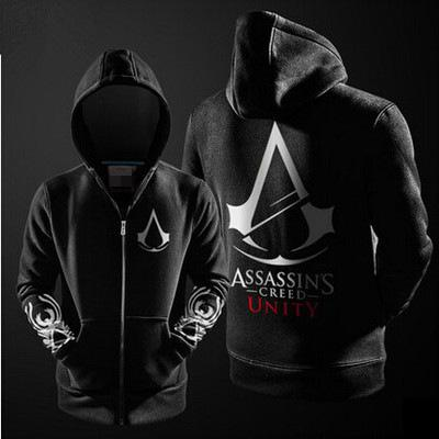 buxue / Großhandels-neue Assassins Creed Design Black Flag Rogue Einheit Syndikat Assassins Creed Hoodies für Unisex mit Kapuze Sweatshirt