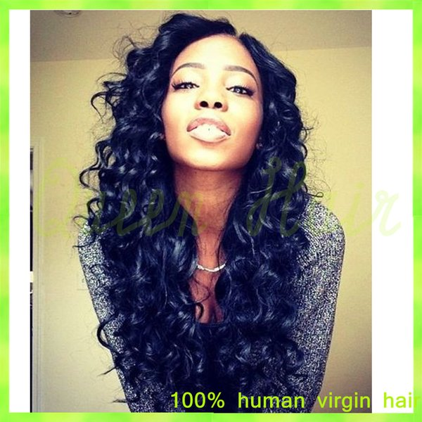 virgin brazilian loose wave full lace wig 130density unprocessed human hair wet and wavy full lace wigs glueless for black women