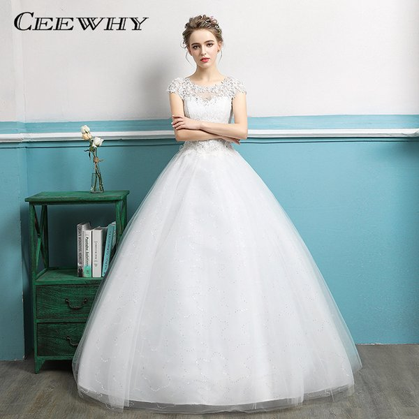 Ceewhy Vestido De Noiva New Design Ball Gown Wedding Dresses 2018 ...