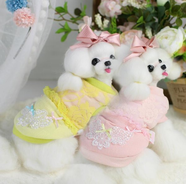 Lollipop Pet Products Supplies Dog Clothes Wear Apparel T-shirt Hoodies Puppy Winter Dog Coat Costumes Thick Downs 7DLP11