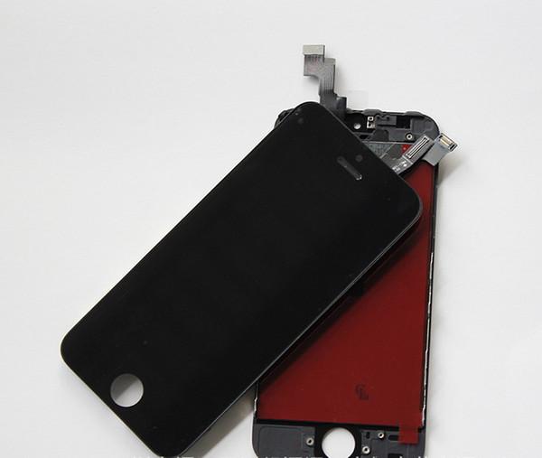 Assemblea completa del convertitore analogico / digitale LCD del touch screen dell'esposizione per le parti di riparazione della sostituzione di iphone 5C 5G di iPhone 5 DHL libera la nave