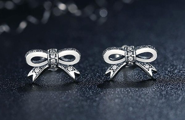 best selling Authentic 925 sterling silver 2017 fashion earings for Women earrings cute luxury jewelry purple snowflake stud fit pandora
