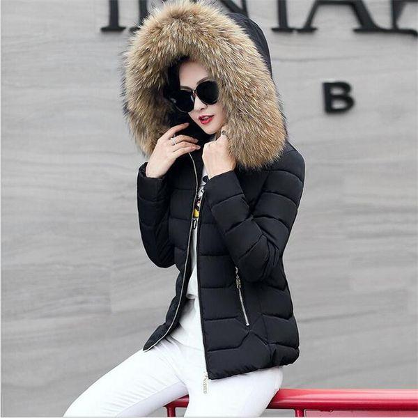 Womens Short Down Jacket 2017 High Quality Slim Jackets For Women Winter Coats Outwear Coat Female Cotton Parkas