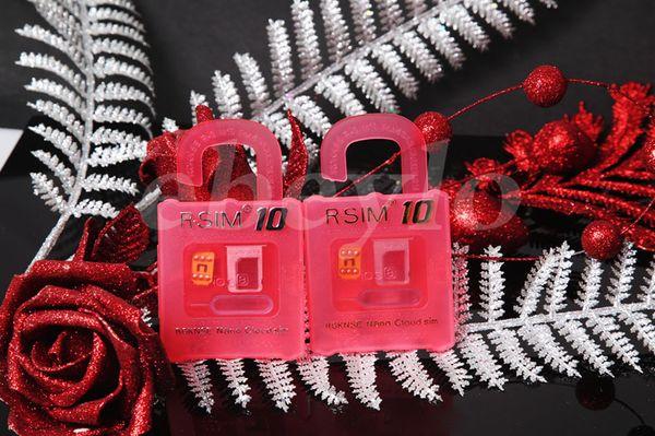 Newest Unlock Card R-SIM 10 Directly Used for iphone 6/6 Plus/5S/5C/5 iOS6. X-8.X WCDMA GSM CDMA Free Shipping