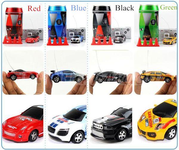 Mini-Racer Remote Control Car Coke Can Mini RC Radio Remote Control Micro Racing Car DHL Shipping!!!
