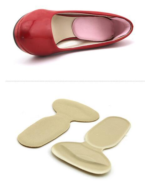 Neue weiche Silikon Heel Cushion Protector Fußpflege Schuh Pad Einlegesohle