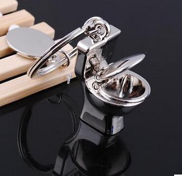 Venta al por mayor - 8 unids / lote moda llavero lindo llavero llaveros regalo creativo aseo encantadores llaveros superior