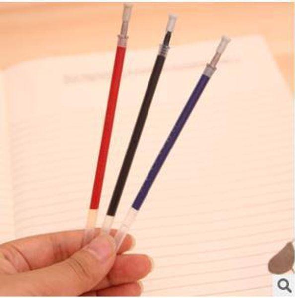 Okul Malzemeleri Ofis malzemeleri Nötr Kalem Çekirdek / 0.5mm Roller Kalem Kırmızı Siyah Mavi Mürekkep Çekirdek 100 adet / grup ARC612