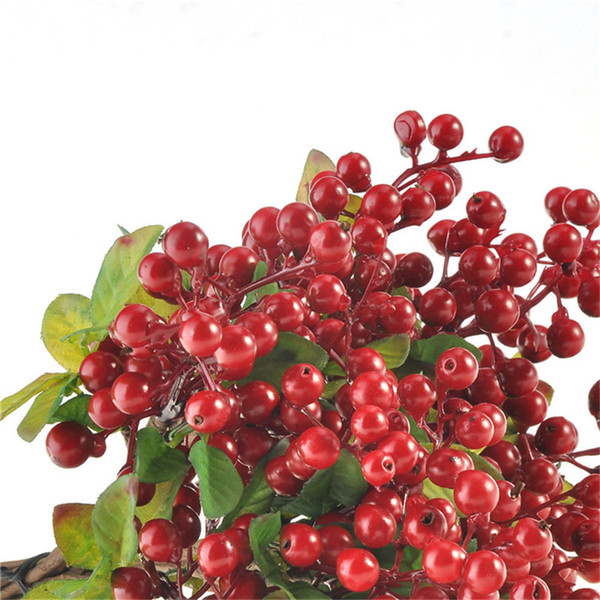 10pcs Small Berries Rustic Artificial Blueberry Decorative Blueberry Fruit For Wedding Home Decoration Artificial Plants