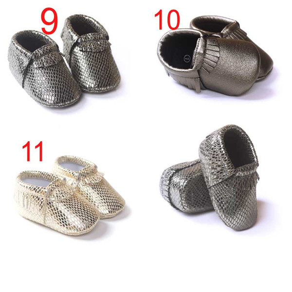 Baby moccasins soft leather moccs baby booties toddler first walker shoes