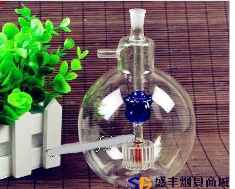 Free shipping wholesale Hookah - Hookah [thicken large glass bulb maker, color random delivery