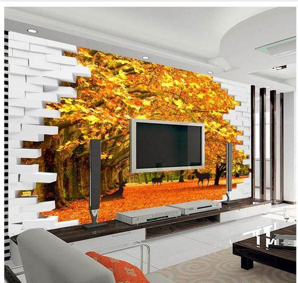 Papel de parede 3D backdrop mural non-woven wallpaper new large murals costomize size 20152431