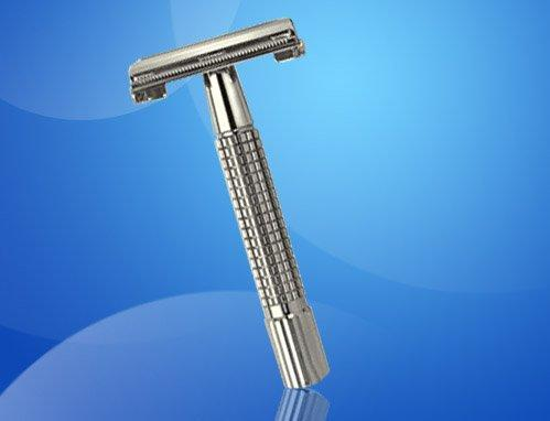 Weishi Shaver double edge safety shaving razor Copper alloy Chromium plating 9306-G 10 PCS/LOT NEW Top quality
