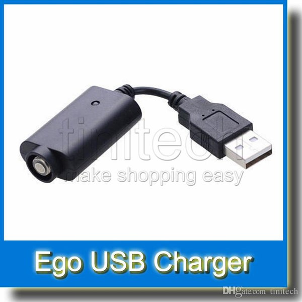 EGO USB cable for eGo e cigs Electronic Cigarette eGo USB Chargers USB ego Charger for ego-t ego-w ego-c evod Wholesale Factory Price