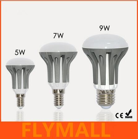 New Arrival E14 E27 LED Dimmable 5W 7W 9W R39 R50 R63 Bulbs Energy Saving bright SMD 2835 led Spot Globe Bulb AC110-240V lamps lighting