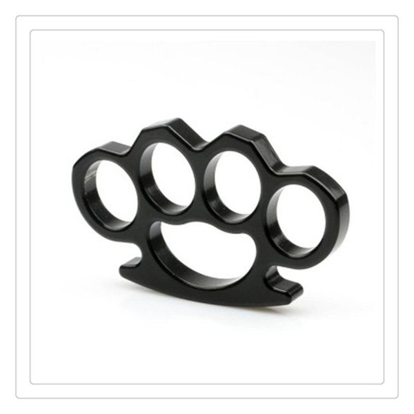 Thin Steel Brass knuckle Dusters Self Defense Personal Security Women's and Men's self-defense Pendant Gear High Quality Fitness Supplies
