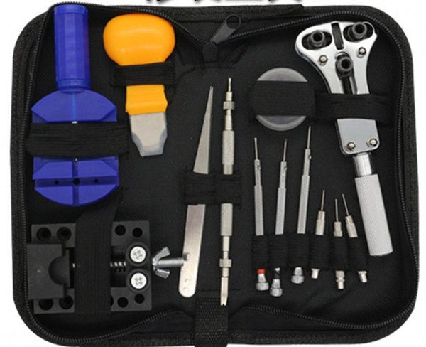 Fix the table tools equipped with tools to repair the watch 13 pin tool kit top sale free shipping