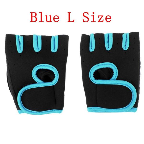 La couleur bleue taille L