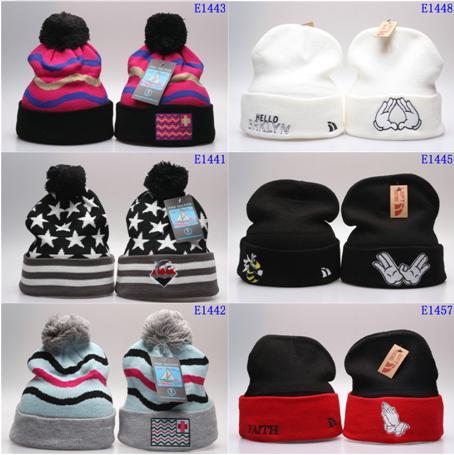 Fashion Beanie/Skull Caps High Quality knitted Beanies for women Diamond Supply Co Beanie Hat Men Skullies hats unisex Winter Knitted Cap
