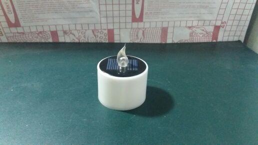 Especially for manufacturers of solar candle light hot new product Multicolor Solar Lights