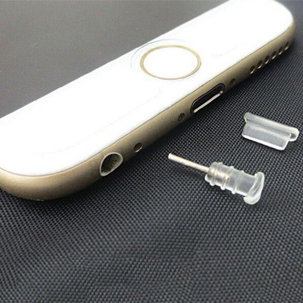 Tappo di protezione per antipolvere Tappo anti-polvere Tappo anti-polvere per iPhone 5 5G 5S 5C 6G Plus
