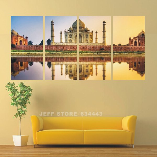 2018 Home Decorating Canvas Painting High Quality Hand Painted Ar ...