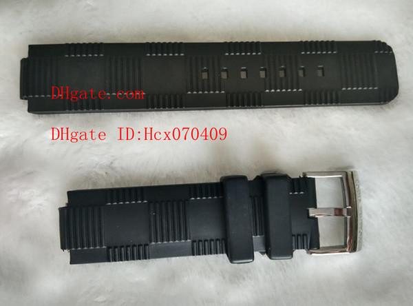 Reloj de pulsera de alta calidad de lujo TAMBOUR IN BLACK GMT Automático CHRONOGRAPH Correa de reloj