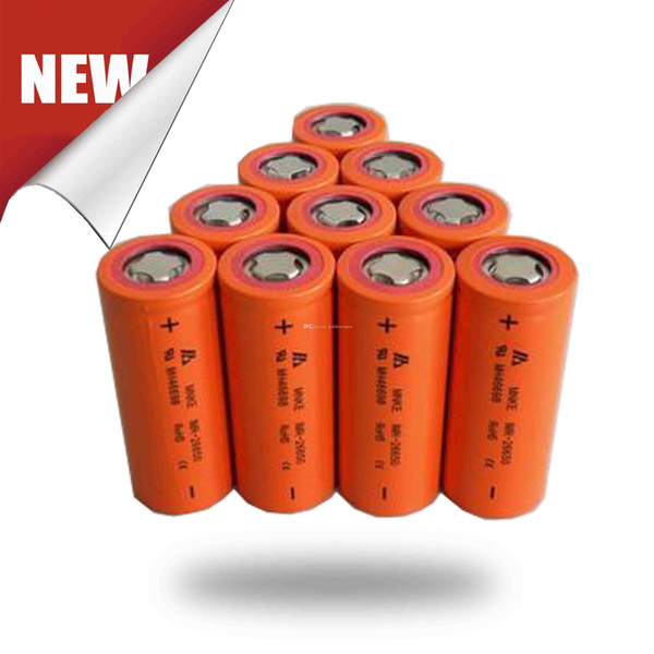 MNKE IMR 26650 30A Batteries Battery Li-mno2 Full Capacity 3500mah For 26650 Mechanical Mods Fuhattan Manhattan Rig Mod