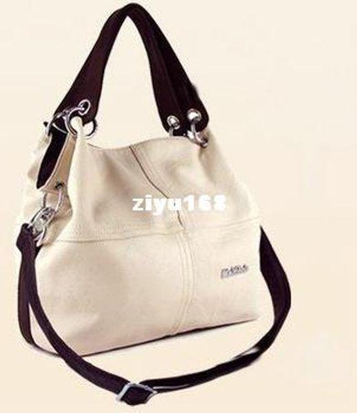 Promozione!!! offerta speciale [100% VERA PELLE] ripristinare antica borsa inclinata borsa grande donna in pelle di vacchetta, spedizione gratuita